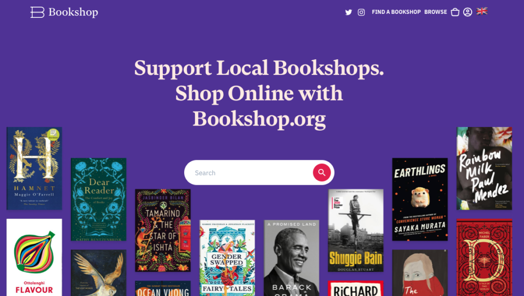 Bookshop.org launches in the UK | Books Ireland